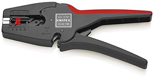 Knipex 12 42 195 MultiStrip 10 – Pince à dénuder entièrement automatique