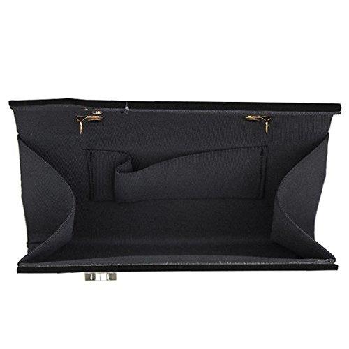 Slant Black Style Envelope Mad Acrylic qp74wH0