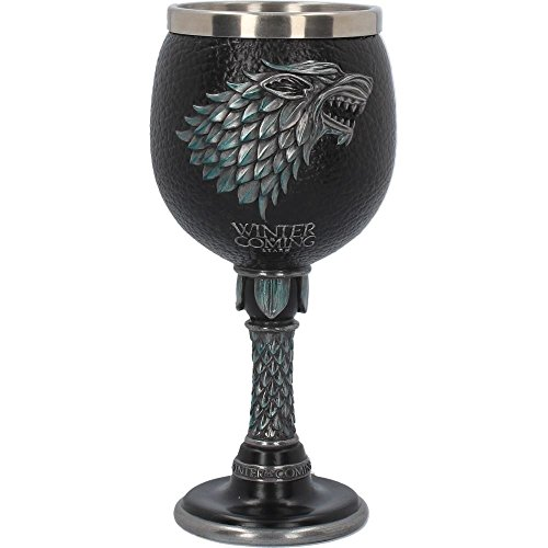 GAME OF THRONES WINTER IS COMING GOBLET 17.5CM