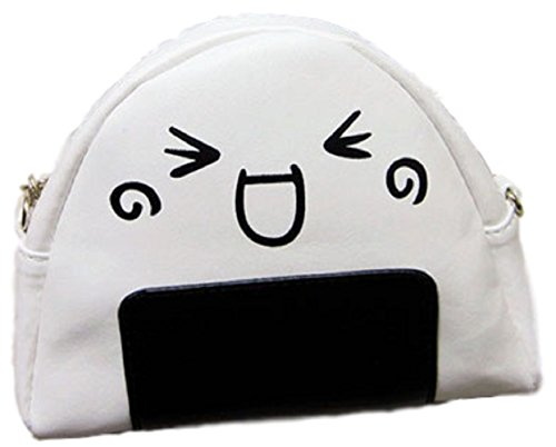 [GLK Japanese Anime RiceBall Onigiri Omusubi Shoulder Pouch Pochette Maid Cosplay] (Flash Drive Costume)