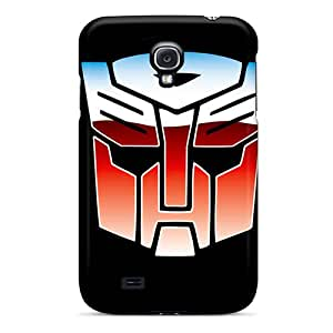 CristinaKlengenberg Samsung Galaxy S4 Shock Absorption Hard Cell-phone Cases Provide Private Custom Vivid Autobots Logo Series [Zmf12233DpBs]