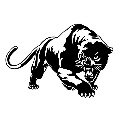 FANGJIE Puma Cougar Panther Graphics SVG Dxf EPS Png Cdr Ai Pdf Vector Art Clipart Instant Download Digital Cut Print File Cricut Silhouette Decal.Room Decals-Door ()