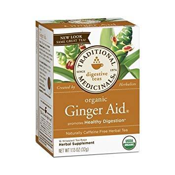 2 Packs of Traditional Medicinals Organic Ginger Aid Herbal