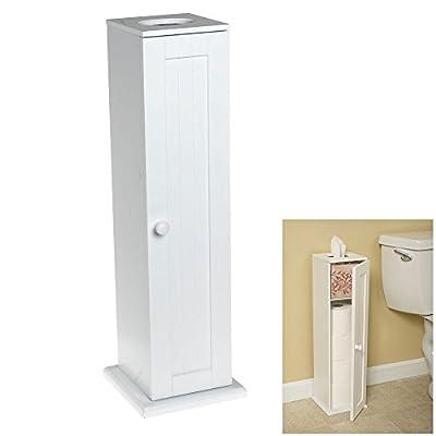 Wholesale Plumbing Supply Free Standing Toilet Paper Bathroom Cabinet Holder