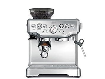 Sage Appliances Máquina de café espresso boquilla de espuma de leche Mit Mahlwerk negro brillante: Amazon.es: Hogar