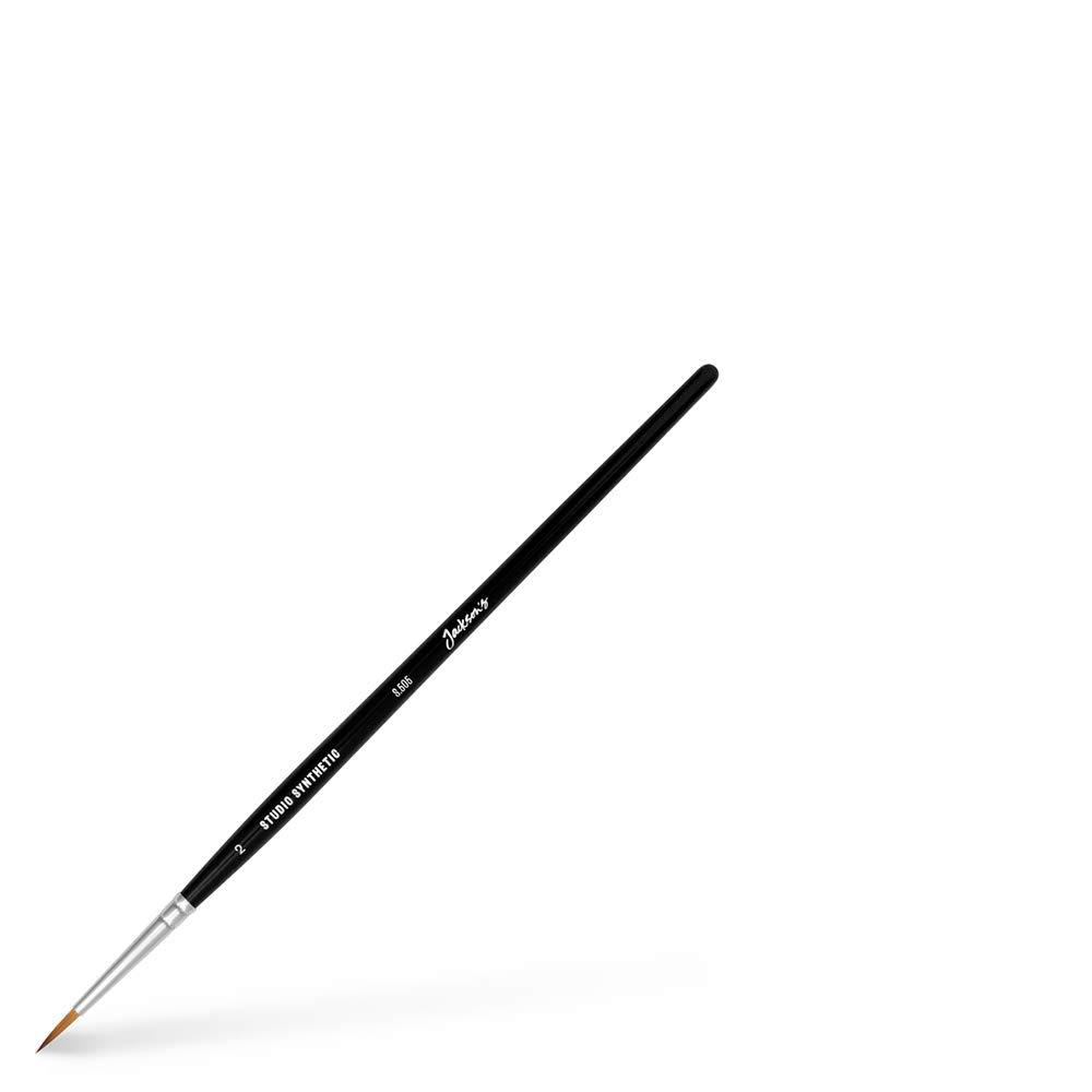 Size 2 JAcksons Studio Synthetic Watercolour Brush Round