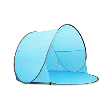 Portable Pop-up Sun/wind Shelter Uv Tent Uv Protection 1-2 Persons  sc 1 st  Amazon.com & Amazon.com : Portable Pop-up Sun/wind Shelter Uv Tent Uv ...