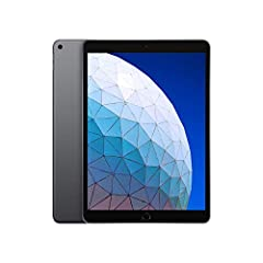 IPad Air is thin, light, and powerful. It features the A12 Bionic chip with Neural Engine, which uses real-time machine learning to transform the way you experience photos, gaming, augmented reality (AR), and more. A beautiful 10. 5-Inch Reti...