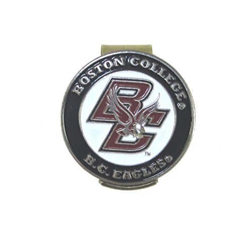Boston College Eagles Golf Hat Clip with Double-Sided BC Ball (College Golf Cap Hat Clip)