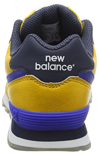 New Balance Kl574z1y-574, Zapatillas Altas Unisex Niños Multicolor (Yellow/Blue 723)
