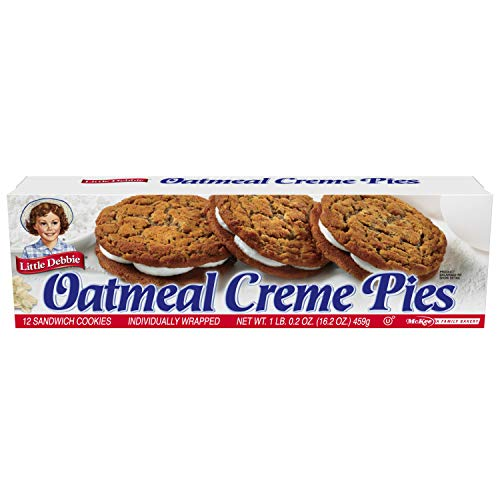 Little Debbie Oatmeal Creme Pies, 24 Count