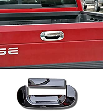 MaxMate Fits 94-01 Dodge Ram Pickup Chrome Tailgate Handle Cover 2PC W//O Keyhole