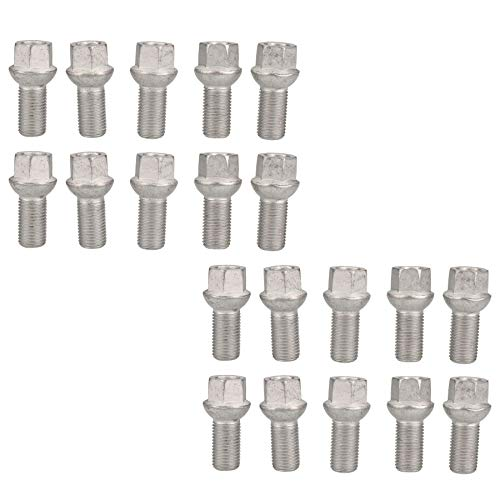 AB Tools-Indespension M14 x 1.5 Replacement Wheel Bolts Spherical for Trailer Hubs Hub Pack of 20