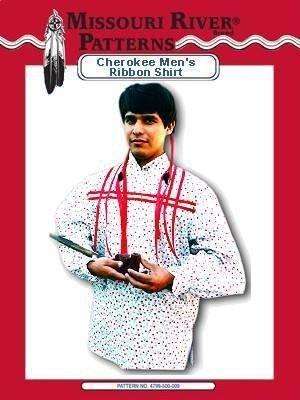 (*Men's Cherokee Ribbon Shirt Pattern Native)