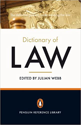 The Penguin Dictionary of Law (Penguin Reference Library)