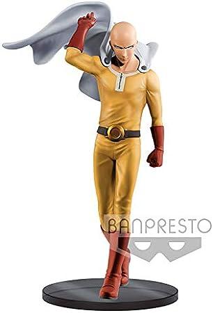 Banpresto One Punch Man Estatua Premium Saitama, Multicolor (85068)