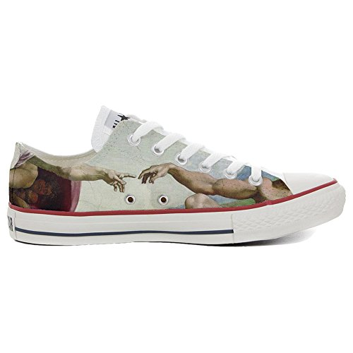 All Chaussures Personnalisé Slim Italien et giudizio Produit Coutume Imprimés Converse Low Handmade Star Sneaker Unisex universale dHtBwqEY
