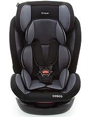 Cosco Auto Asiento Unique Negro, Negro, Paquete De 1 Count