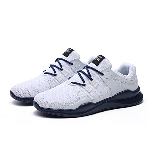 Compétition Bleu Blanc Course Homme Gris Noir Running Fitness Baskets Joyto 39 De 46 Trail Sport Sneaker Chaussure a78q8f