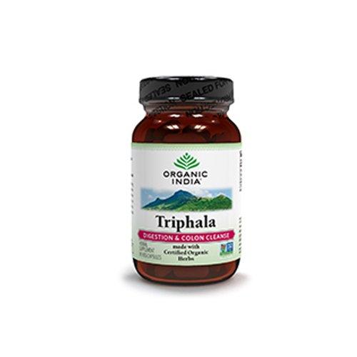 Organic India Triphala Vegetarian Capsule - 90 per pack -- 2 packs per case.