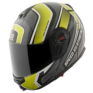 Speed and Strength SS1700 Lock and Load Helmet - Large/Hi Viz