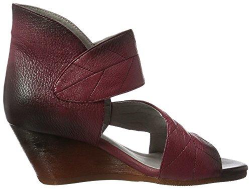 Laura Vita Women's Balzac 06 Ankle Strap Sandals Red (Wine) ACwk8