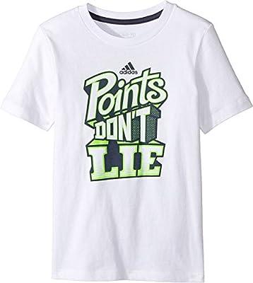 f2e0a341d4 adidas Kids Baby Boy's Points Don't Lie Tee (Toddler/Little Kids ...