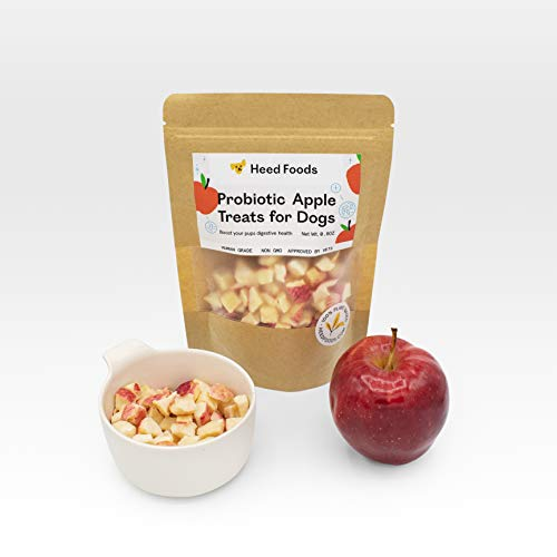 Heed Foods Probiotic Apple Treats for Dogs