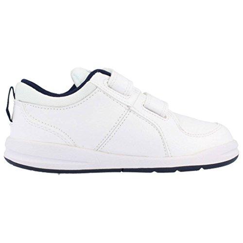 Nike Pico 4 (TDV) Zapatillas, Bebé-niños Blanco con azul
