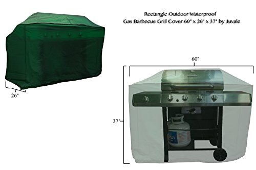 Rectangle, BBQ,Gas Grill, for Outdoor Patio with Waterproof Cover 60 x 26 x 37 Inches