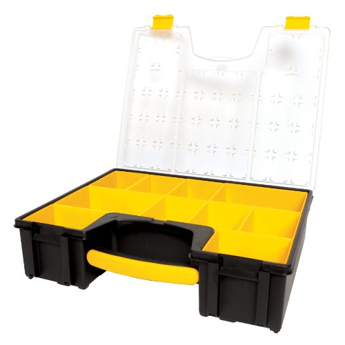 076174942033 - Stanley Consumer Storage 014708R 10-Compartment Deep Professional Organizer carousel main 0