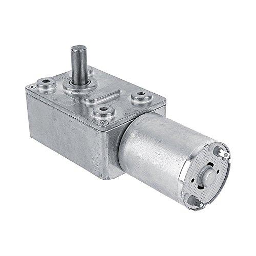 High Torque Turbo Geared Motor DC 12V Motor 2/3/5/610/20/30/40/62/100RPM (5 RPM)