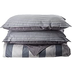 "Nautica 220091 Fairwater 18"" Decorative Pillow,Blue,18x18"