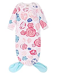 Baby Boys Girls Cartoon Sleep Gown Warm Night Robe Coming Home Outfits Blanket