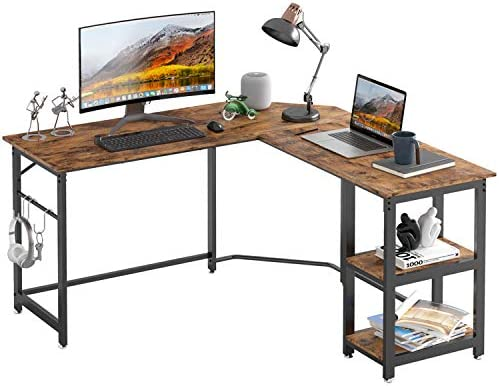 IRONCK L Shaped Computer Desk