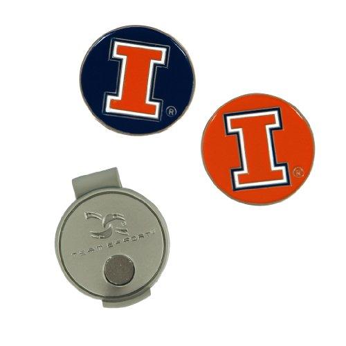 Team Effort Illinois Fighting Illini Hat Clip & 2 Ball Markers
