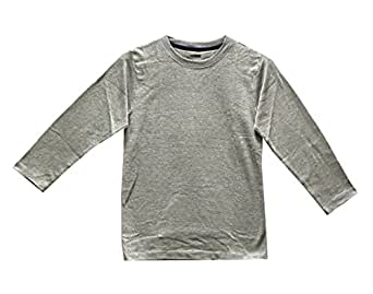 CHAPS Mens Set of 2 Thermal Top Heather Grey 280925RM (Small)