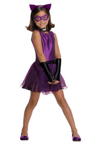 Little Girls' Catwoman Tutu Costume - M -