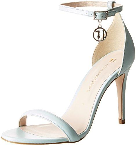 Evening Femme À Jeans Turchese Marine Brides Chaussures Acqua Minimal Trussardi Iq5WdYwI