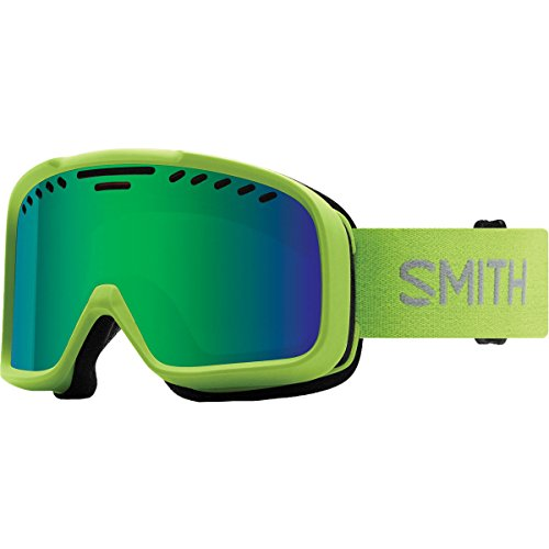 - Smith Optics Project Adult Snow Goggles - Flash/Green Sol-X Mirror/One Size