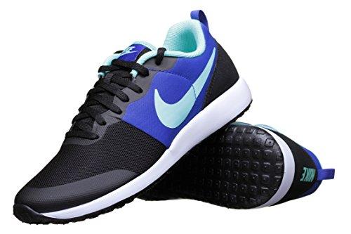 Nike Wmns Elite Shinsen, Zapatillas de Deporte Para Mujer Negro (Black / Hyper Turq-Rcr Bl-White)