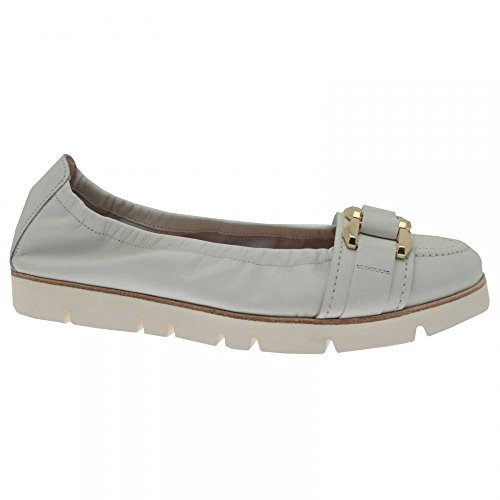 Ballerina White Women's Crepe 5 Sole Und Schmenger Buckle Kennel 4 Shoe qxvYn