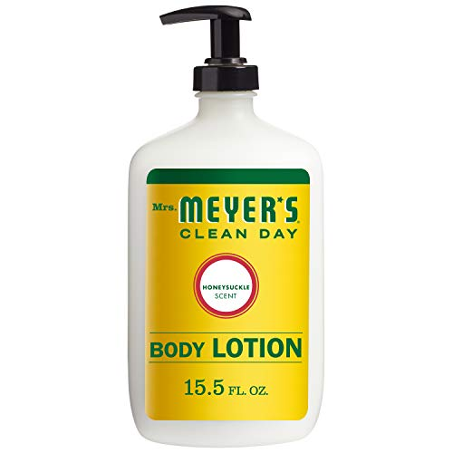 - Mrs. Meyer's Clean Day Body Lotion, Honeysuckle Scent, 15.5 Ounce Bottle