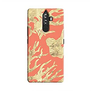 Cover It Up - Red Nature PrintK8 Plus Hard case