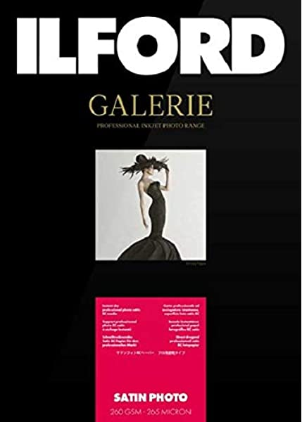 Ilford Galerie Satin Lustre, 260g, A4, 25 hojas: Amazon.es: Electrónica
