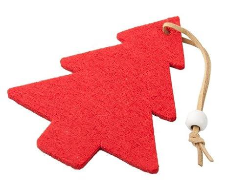 Petit Sapin De Noel Decoration De Noel Feutrine Rouge Amazon Fr