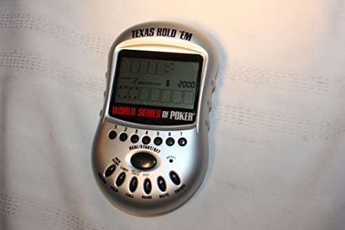 World Series Of Poker Texas Holdem Handheld Video Game (399)