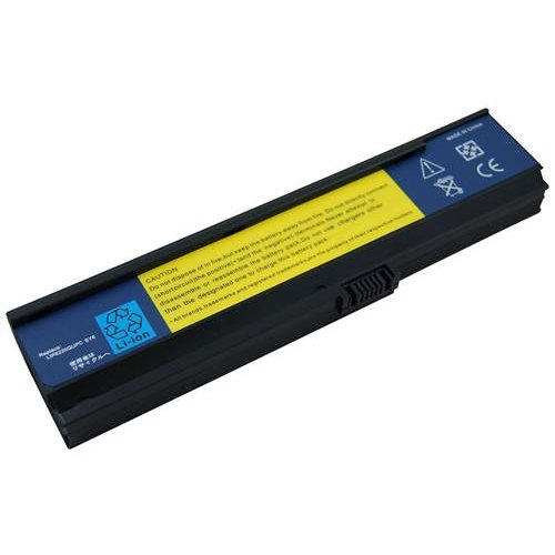 Battery for Acer TravelMate 2480-2968, 6 cells, 4400mAh, Black, Compatible Battery, 1 Year Warranty by Generic