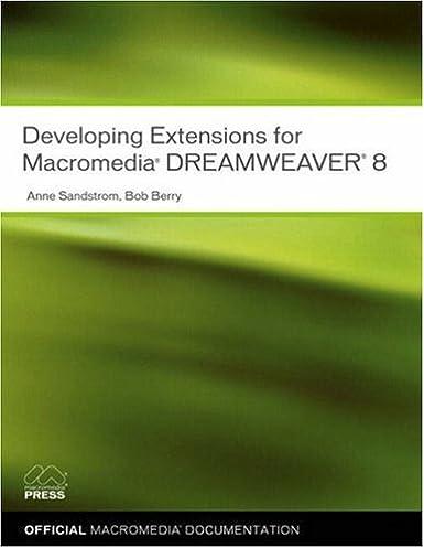 developing extensions for macromedia dreamweaver 8 anne sandstrom rh amazon com
