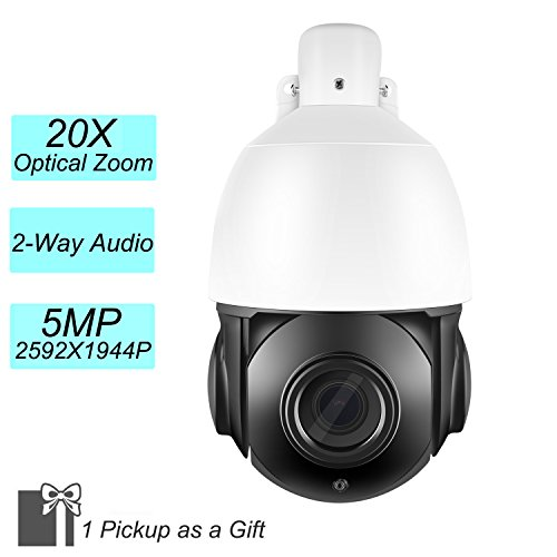 IMPORX 5MP 20X PTZ IP Camera – 20X Optical Zoom 1944P ONVI